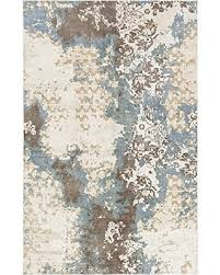 cream and brown area rug chandra rugs vingel rectangular hand knotted traditional area rug 5 x cream and brown area rug