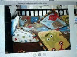 monsters inc crib bedding