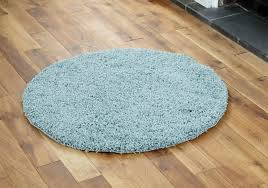 round duck egg blue rugs