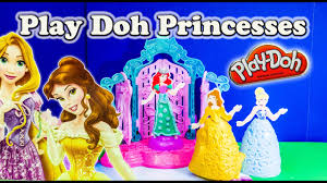 Play Doh Disney Princess Design A Dress Ballroom Princess Play Doh Design A Dress Ballroom Play Doh Toy Review