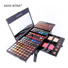 miss rose cosmetic 190 colors makeup palette eyeshadow eyebrow blusher podwers pro make up set matte shimmer eye shadow in eye shadow from beauty