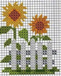 77 Best Sunflowers Cross Stitch Images In 2019 Cross