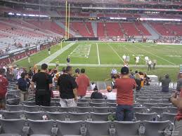 State Farm Stadium Section 113 Arizona Cardinals