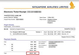 Sia Redemption Chart How To Get The Most Out Of Your Krisflyer Miles