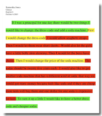 expository writing students underline or highlight using the three stop light colors green introduces essay writingparagraph examples of introductory paragraphs for expository essays