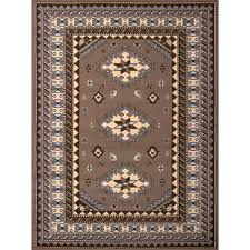 united weavers dallas tres ash beige 8 ft x 11 ft indoor area rug 851 10273 912 the home depot