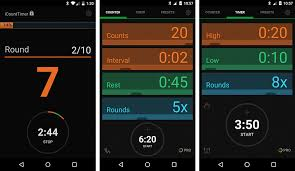 icount timer can be used in various exercises and includes a timer mode where you can use this app for hiit crossfit cycling running