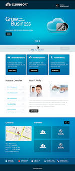 web template design software. Amazing Software Website Templates Entheos