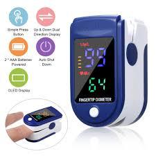 <b>Digital Finger Oximeter Portable</b> Home Use Adults Children ...