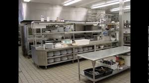 Restaurant Kitchen Furniture Indian Restaurant Kitchen Design Youtube