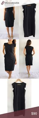J Crew Resume Dress J Crew Resume Black Dress Silhouettes and Cap 28
