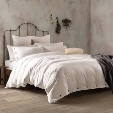 A washed cotton duvet set for anyone whose aesthetic is ...