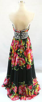 Paparazzi By Mori Lee Multi Evening Prom Gown 6 Nwt 398
