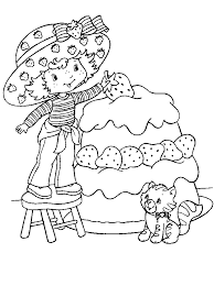 Small Picture Epic Strawberry Shortcake Coloring Page 51 On Gallery Coloring