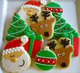 Как сделать новогодние печенье рецепт 3