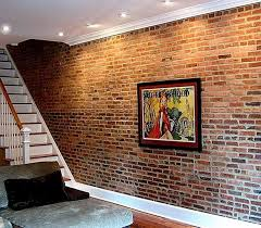brick basement wall if basement walls are originally brick instead of poured concrete leave