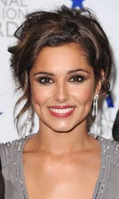 celebrity inspiration for bridesmaid hair messy updo hairstyles messy updo and cheryl cole