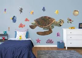 nemo friends collection large officially licensed disney removable wall graphics fathead wall decal