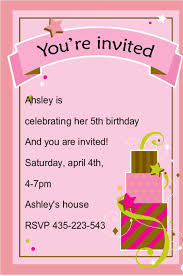birthday invitation template 76 free