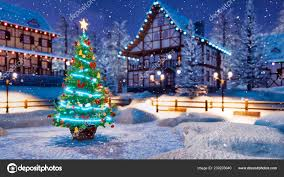 Outdoor Seasonal Lights Outdoor Christmas Tree Decorated Luminous Star Xmas Lights