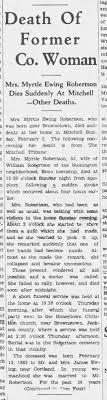Myrtle Ewing obit p.1 - Newspapers.com