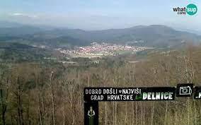 Slike - Slike - Delnice panorama, pogled s Petehovca - LiveCamCroatia,  Istraži Hrvatsku