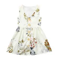 <b>2019 Fashion Toddler</b> Girls Dress Flower Party Sundress <b>Baby Girl</b> ...