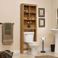 Above Toilet Cabinet varnishd dark teakwood above the toilet cabinet with shelf placed 1621 by uwakikaiketsu.us