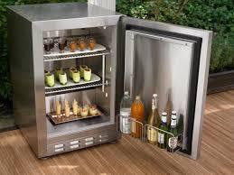 Refrigerator Outdoor Outdoor Kitchen Appliances Hgtv