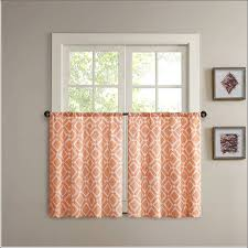 kitchen rust colored curtains orange sheer curtains e colored valances orange patterned curtains burnt orange