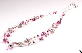 Image result for breast cancer necklace