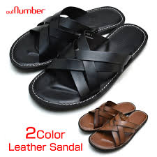 leather sandals men outnumber out number genuine leather