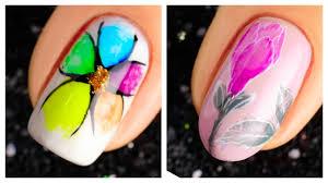 cute nail art design 2019 pilation simple nails art ideas pilation 12