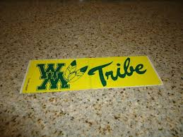 best william and mary images pride mary and  william and mary tribe bumper sticker 1990s