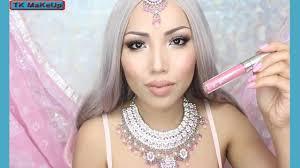 bollywood princess makeup tutorial tk makeup
