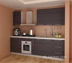 customize melamine grey color kitchen cabinet