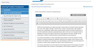 Document Template : Examples Of Employee Handbooks Templates ...