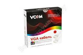 <b>Кабель</b> VCOM VVG6448-20M <b>монитор</b>-<b>SVGA card</b> /<b>15M</b>-<b>15M</b>/ 20м ...