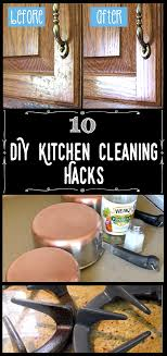 10 diy kitchen cleaning s