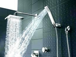 delta oil rubbed bronze shower head oil rubbed bronze rain shower head 5 euro handheld set