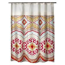 colorful shower curtains target. Fine Shower Boho Boutique Utopia Shower Curtain  Target And Colorful Curtains M