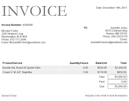 Photography Invoice Template Word Invoice Template Thddesn Ikqklq ...