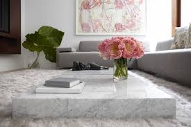 flat sofa marble coffee table is a convenient piece of furniture white marble coffee table singapore