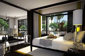 black wood bedroom furniture. Dark Wood Bedroom Furniture Decor White Iron Bed Gray Curtain Sweet Black Chandeliers Persian Carpet