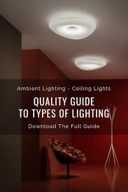 Types Of Ambient Lighting Quality Guide To Types Of Lighting Ambient Lighting