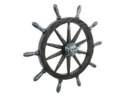 captains wheel wall decor antique pirate ships boat throughout prepare 13