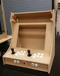raspberry pi bartop arcade holbrook tech blueprint cabinet plans copy diy
