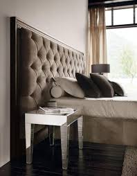 fabulous mirrored furniture. Small Mirrored Bedside Table And Chic Fabulous Design Also Contemporary Bedroom Furniture