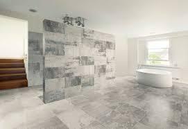 Stone Bathroom Tiles Bathroom Staggered Slate Tiles Airmaxtn