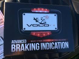 Volo Lights Scootin Fool Vololights Advanced Braking Indicator Plate